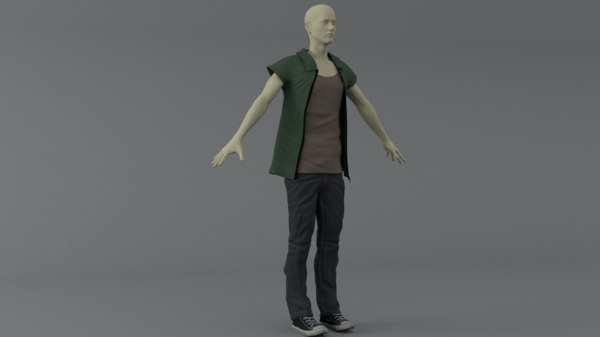 clothing set 3D model