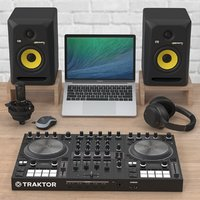 3D dj music production model