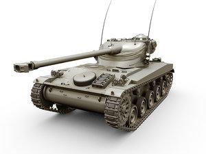 3D amx-13 75mm