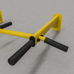 sports horizontal bar model