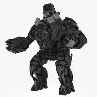 Mech robot type A