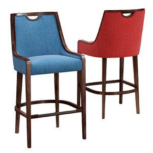 bar stool 3D