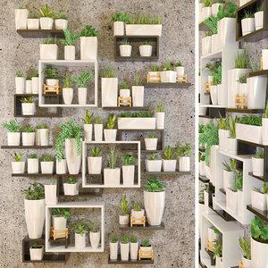 wall flower model