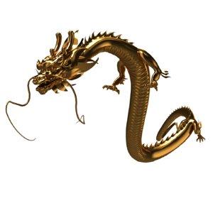 china dragon 3D