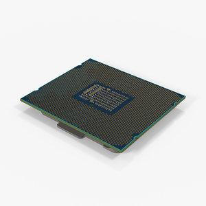 main processor 3D model