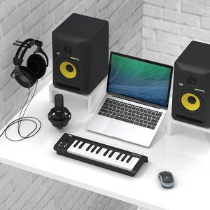 3D music production recording 1