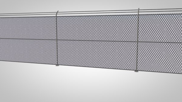 3D chainlink fence