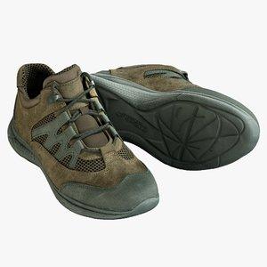 realistic shoes 2 3D model