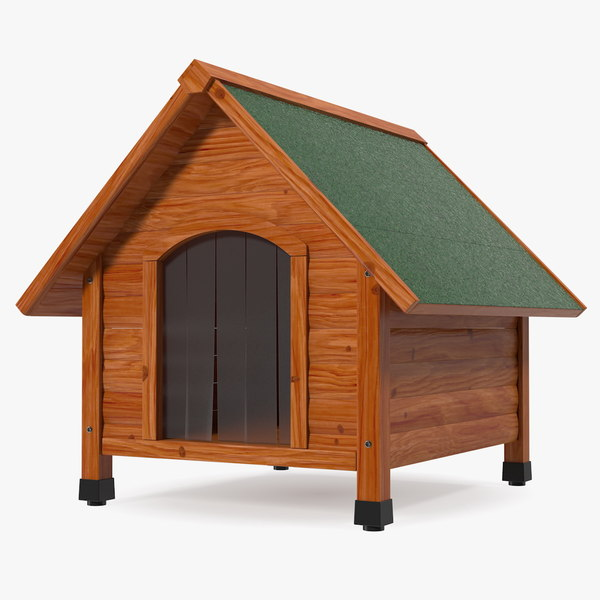 3D small dog house