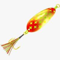 3D fishing spoon