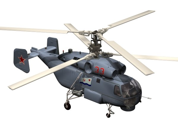 helicopter kamov ka-29 3D model