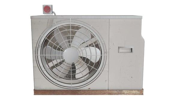air-con unit 3D model
