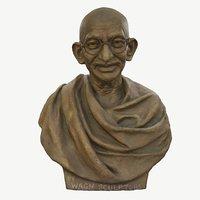 sculpture gandhi wagh sculptors 3D model