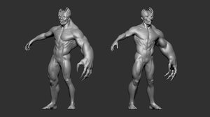 3D zbrush project