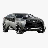 Futuristic SUV