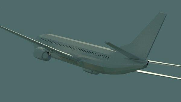 physplane jet 3D model