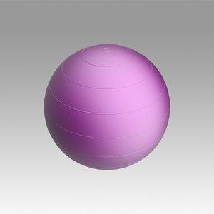 3D model swiss ball