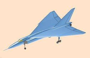 canada avro cf-105 arrow model