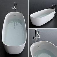 3D model river bathtub