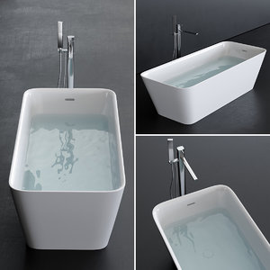 3D equal bathtub