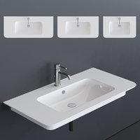 green washbasin 3D model