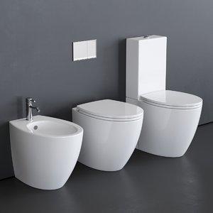 3D velis toilet bidet