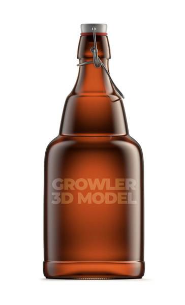 3D growler beer
