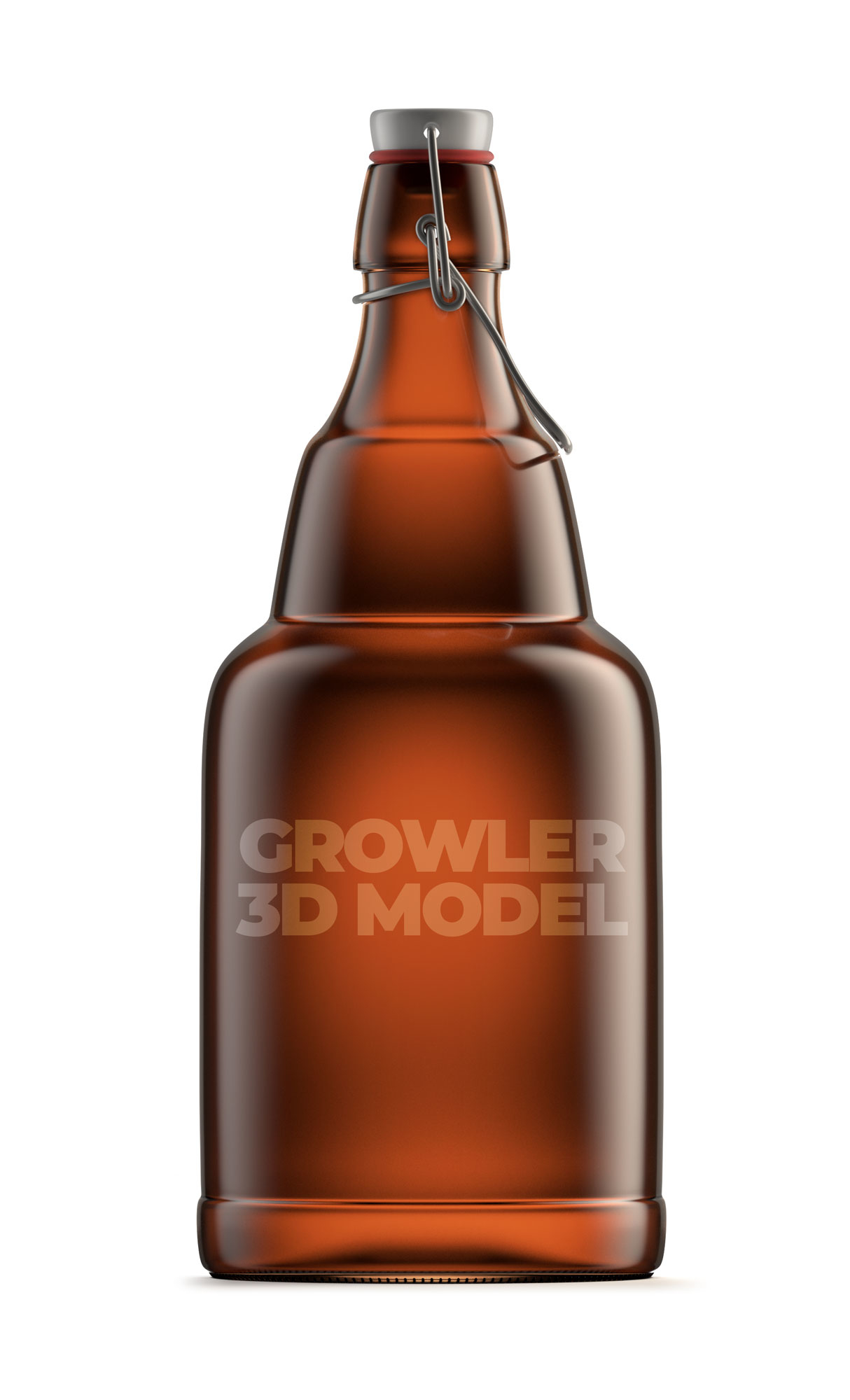 3D growler beer