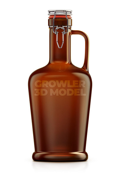 growler beer 3D model