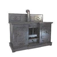 cast iron oven 3D model