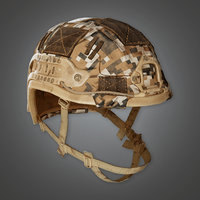 Military Helmet 02 - MLT - PBR Game Ready