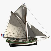 Brittany Shell Fishing Boat 15m -1850