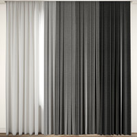 contemporary curtain model