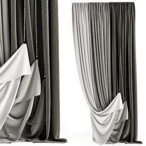 contemporary curtain model