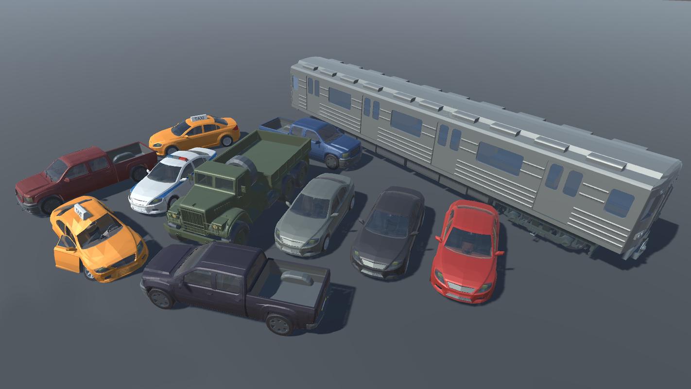 project world - stylized model