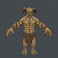 bogey 3D model
