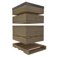 3D bee hive