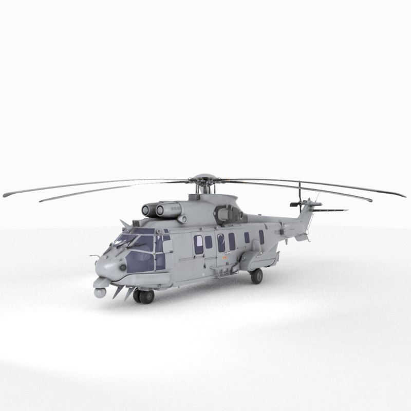 airbus helicopters 3D model