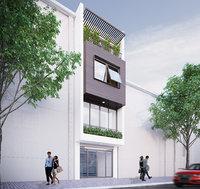 Full Apartment Exterior and Interior Scene 3D