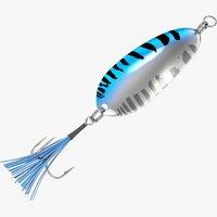 fishing spoon 3D model