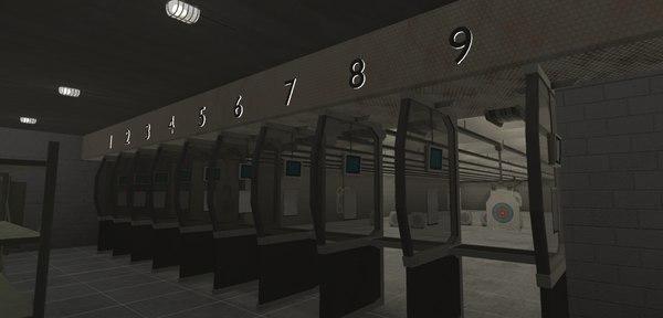 shooting - 3D model