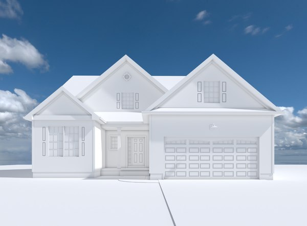 simple house aspen model