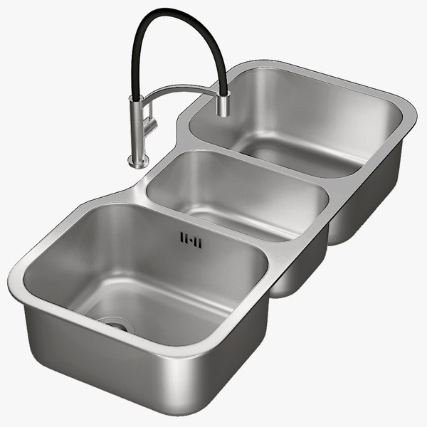 3D realistic sink infinite mixer