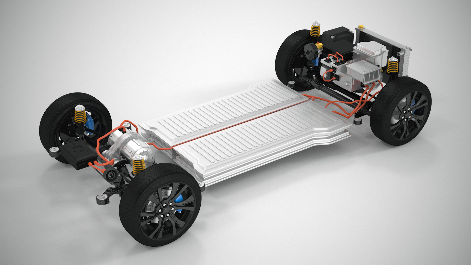 Awd Electric Car >> Generic Electric Awd Vehicle Suspension
