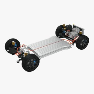 generic electric awd vehicle model