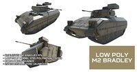Low Poly M2 Bradley