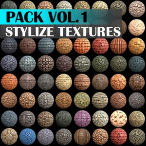 Stylized Texture Pack - VOL 1