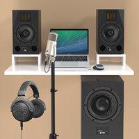 production recording 2 pro 3D model