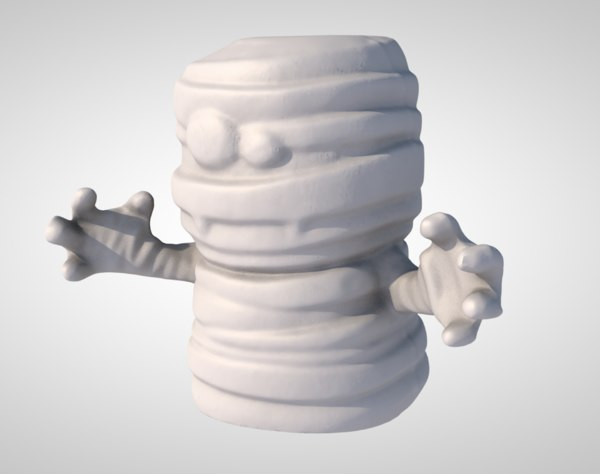3D ghost ghoul