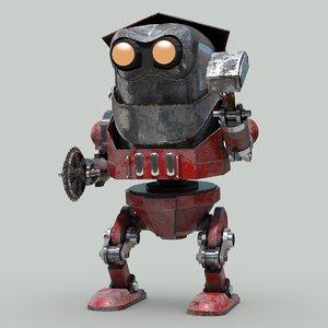 futuristic crusher model